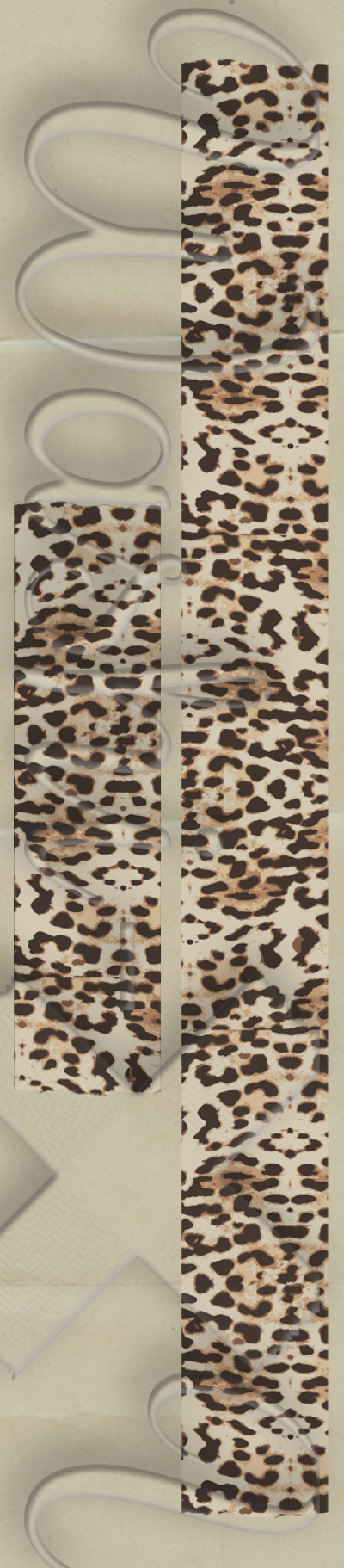Leopard patterned washi tape