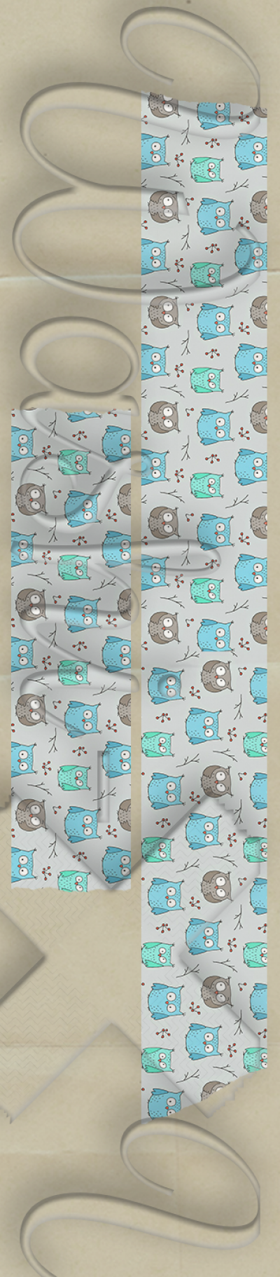 Owls patterned washi tape