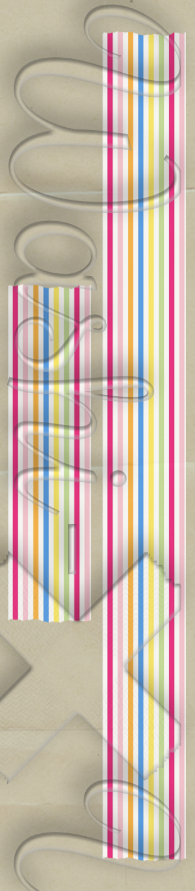 Lines patterned washi tape style 2