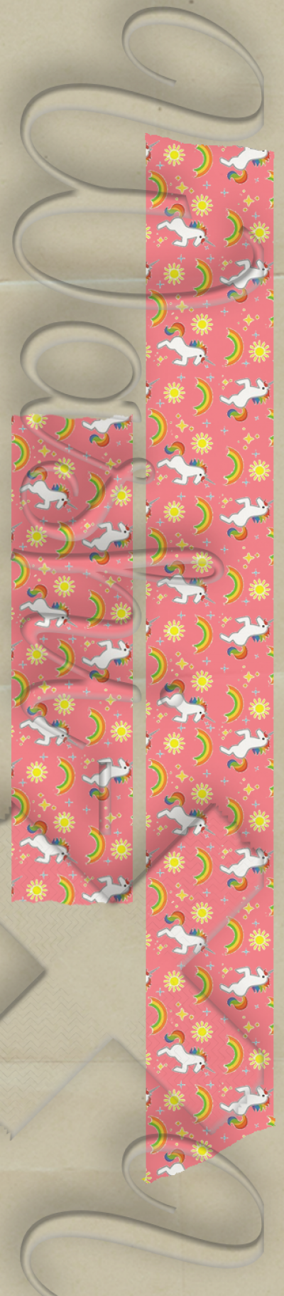 Unicorns patterned washi tape